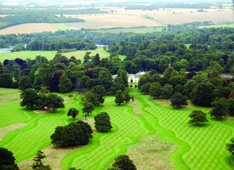 Golf aerial view (high)
